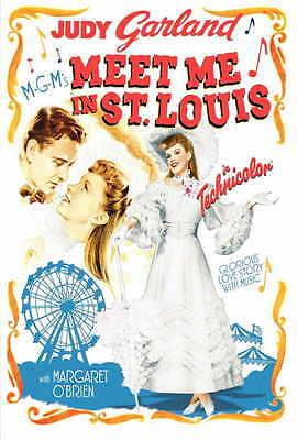 MEET ME IN ST. LOUIS Movie Promo POSTER D Judy Garland Margaret O'Brien