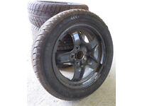 Winter tyres with steel rims - 205/55R16