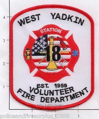 North Carolina - West Yadkin Station 18 NC Fire Patch