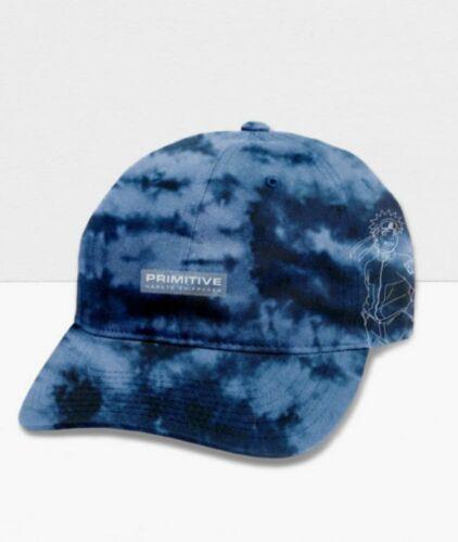 Primitive Skateboards x Naruto Shippuden Uzumaki Washed Blue Strapback Hat