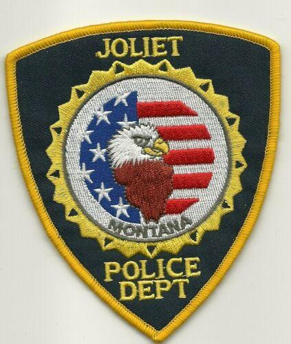 Joliet Police State Montana MT US FLAG & Eagle