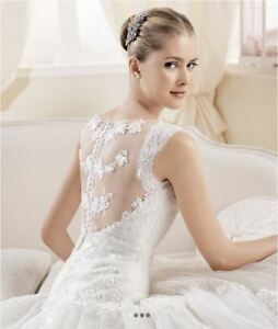 SUPER BEAUTIFUL WEDDING DRESS MADE IN SPAIN
