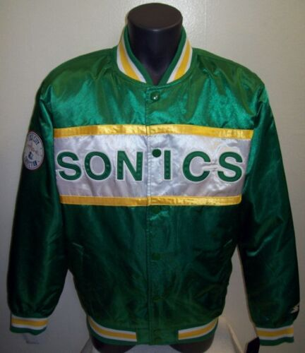 Seattle Supersonics Jacket in Green, New