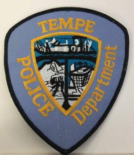 TEMPE ARIZONA AZ POLICE DEPT TPD PD WATER BARGE (FIRE) EMBLEMS