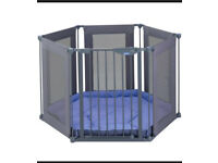 Lindam fabric playpen and room divider