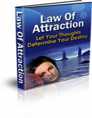 The Law Of Attraction  Let Your Thoughts Determine Your Destiny    Ebook   Bonus