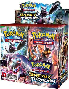 Pokémon XY BREAK Through Booster