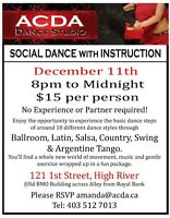 Social Dance with Basic Instruction