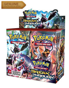 ... Card Booster Pack XY Breakthrough Pokemon Sealed Break Through | eBay