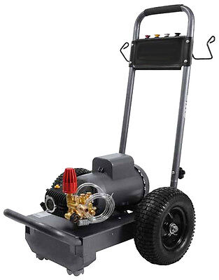 Pressure Washer Electric - Commercial - 3 Hp - 230v - 1 Ph - 1500 Psi - 3 Gpm