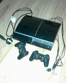 PS3 100GB Jet Black