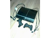 PS3 100GB Jet Black
