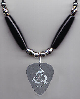 AFI Jade Puget Signature Black Guitar Pick Necklace - 2006 Tour for sale  Shipping to India