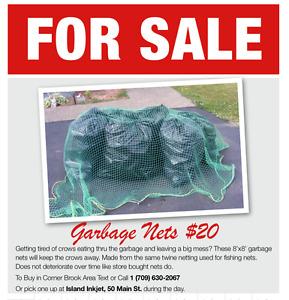 Garbage Net/Truck Cover for Sale