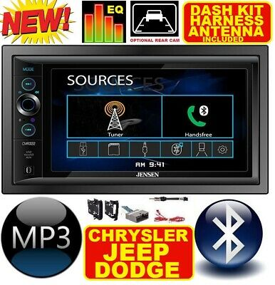 CHRYSLER JEEP DODGE BLUETOOTH TOUCHSCREEN USB SD AUX Car Radio Stereo