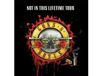 Guns N Roses Ticket - Standing - Friday the 16th of June - London Olympic Park