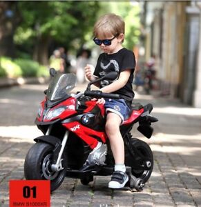 Rastar BMW S1000 XR Motorcycle Kids Ride On Car Black | Official