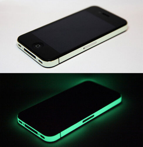 Iphone 4 4s cover skin adesiva luminescente fluorescente for Mainini arreda e illumina parma pr