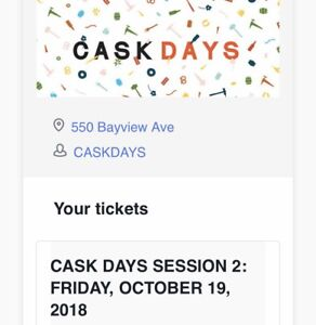 Cask Days Session 2!!