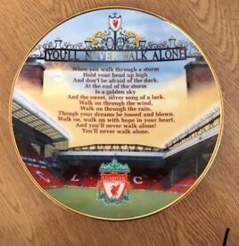 Official Liverpool FC Decorative Plate
