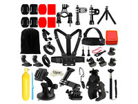 45 in 1 GoPro action camera accessory kit BRAND NEW