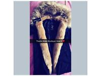 Bows Boutique Coat M 10-12