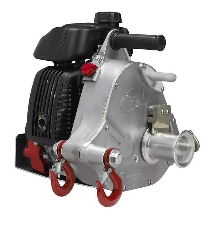 Portable Gas-Powered Capstan Winch - PCW5000