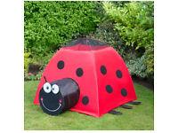 Brand new oversized ladybird play tent kids