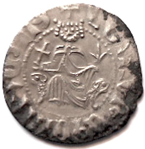 ARMENIA-Cilicia, Armenian LEVON I, Silver, Patriarchal Cross / Ramp-rant  Lions
