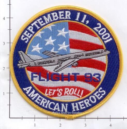 Pennsylvania - Flight 93 Shanksville PA Fire Dept Patch 343 9-11 WTC Lets Roll