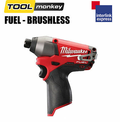 Milwaukee M12CID-0 12v FUEL Impact Driver Drill * Bare Unit *