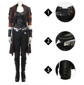 Guardians of The Galaxy Cosplay Costume Gamora Outfit
