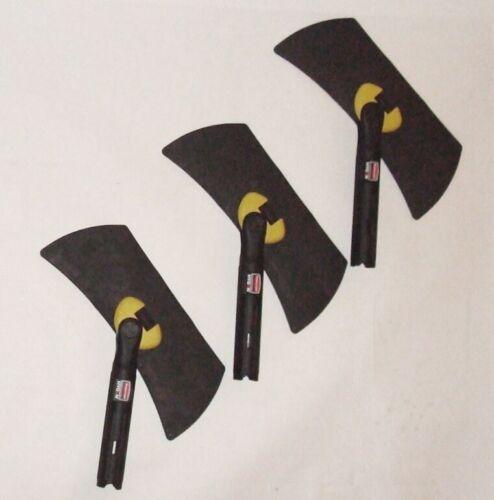 Rubbermaid Q855 Hygen Commercial Black Rubber Microfiber Flexi Flexible Frame