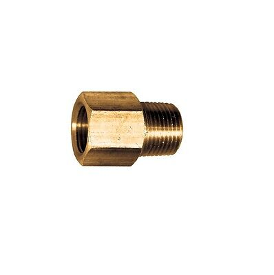 SAE 45 Female Flare Male Pipe Adapter 1/4 Tube OD FFL x 1/8 Male NPT MPT Fitting