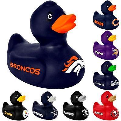 Nfl Duck - NFL Vinyl Duck Rubber Duck - Pick Your Team