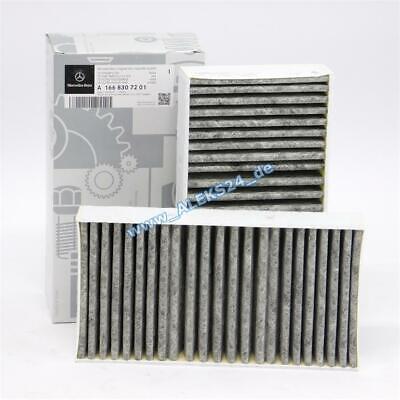 Original Mercedes Innenraumfilter Pollenfiltersatz M GLE GLC W166 C292 C253 X166