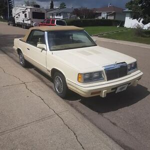 1986 Chrysler Lebaron Convertible 2.3 l turbo