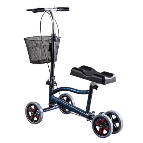 Foldable Steerable Medical Knee Walker Scooter Crutch Turnin