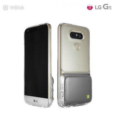 LG G5 Cam Plus Crystal Clear Transparent Protective Mobile Phone Case Cover