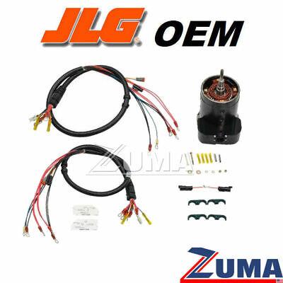 Jlg 7024777 1001100820 - New Jlg Es Scissor Lift Drive Motor Kit Genuine Oem