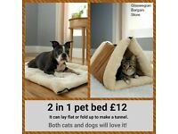Brand New Gorgeous 2 in 1 Pet Bed only £12