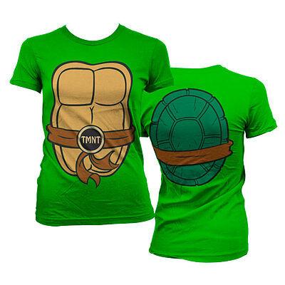Offiziell Lizenziert Teenage Mutant Ninja Tmnt Kostüm Damen T-Shirt - Tmnt T Shirt Kostüm