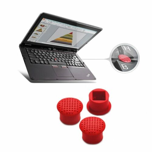 10pcs Rubber Mouse Pointer TrackPoint Red Cap for IBM Thinkpad Laptop Nipple Ao