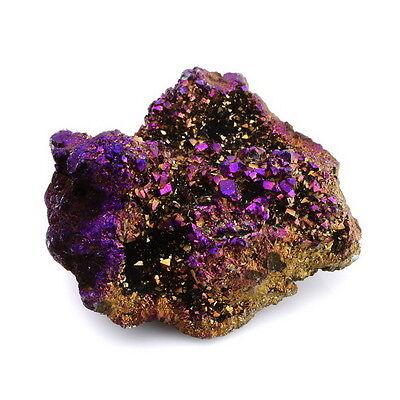 Crystal Natural Ruby Rainbow Aura Mineral Rough Specimen Stone Gemstone Quartz