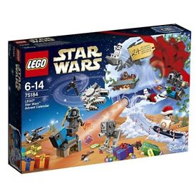 Lego Star Wars Advent Calendar Set 75184 New