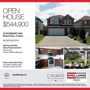 Open House 2-4pm Sunday August 20th