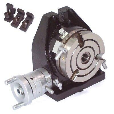 55636 Teilapparat Rundtisch 110mm Fräsmaschine horizontal vertikal Bohrmaschine