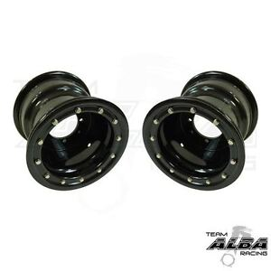 TRX 450R 400EX 300EX  Rear Wheels  Beadlock  9x8  3+5  4/110  Alba Racing  B/B