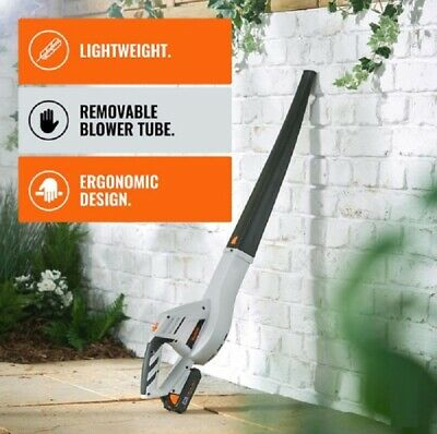 Cordless Powerful Garden Blower Leaf Blowers Lithium Ion Battery Charger 20V New