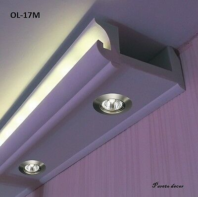 21 Meter+Ecke Kleb LED Spots Lichtstrahl Profil für indirekte Beleuchtung OL-17